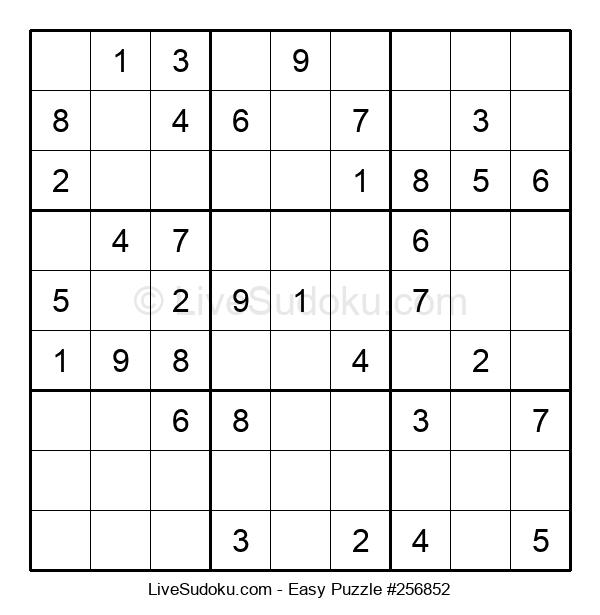 Beginners Puzzle #256852