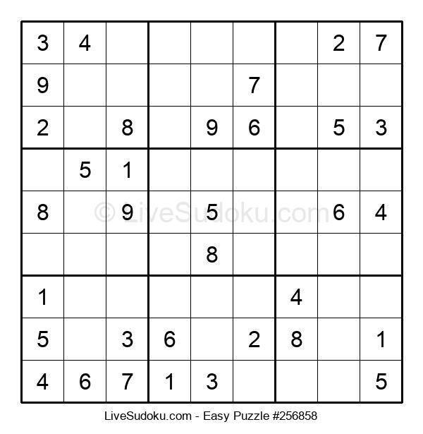 Beginners Puzzle #256858