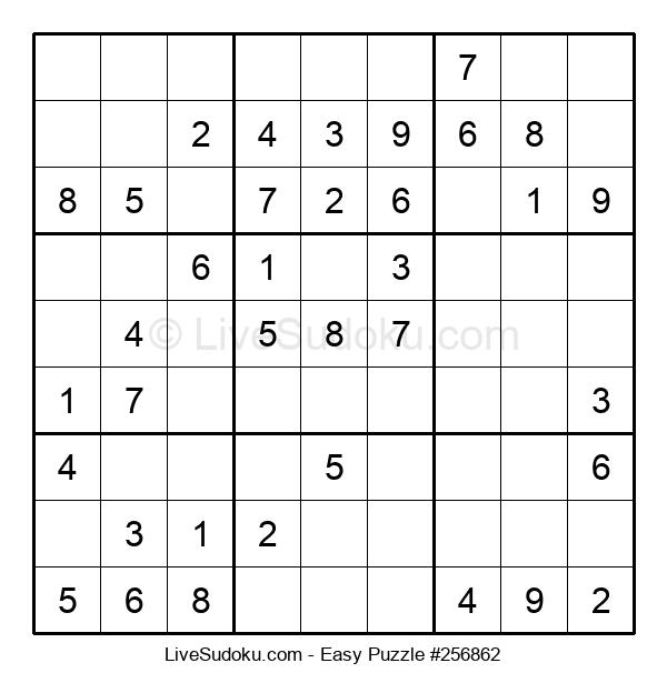 Beginners Puzzle #256862