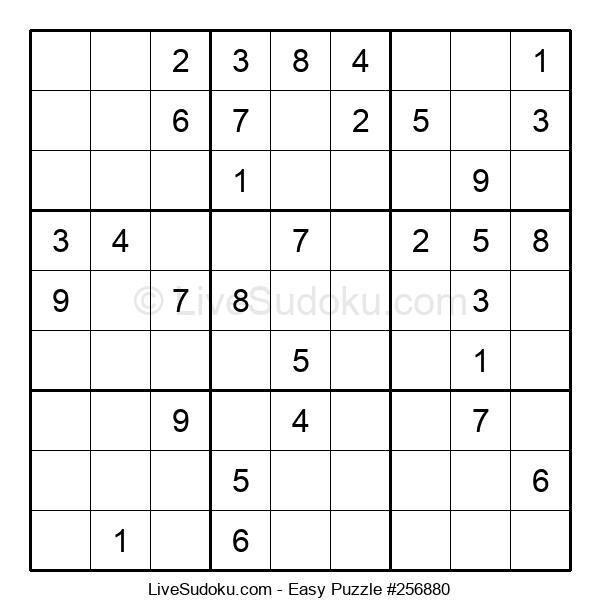 Beginners Puzzle #256880