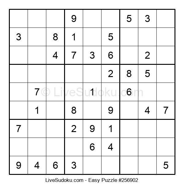 Beginners Puzzle #256902