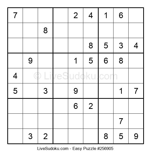 Beginners Puzzle #256905