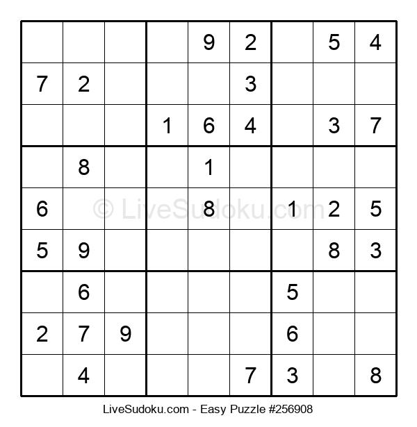 Beginners Puzzle #256908