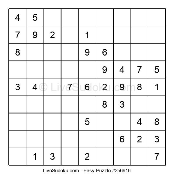 Beginners Puzzle #256916