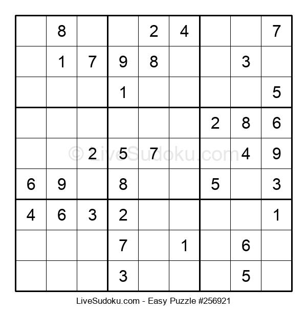 Beginners Puzzle #256921