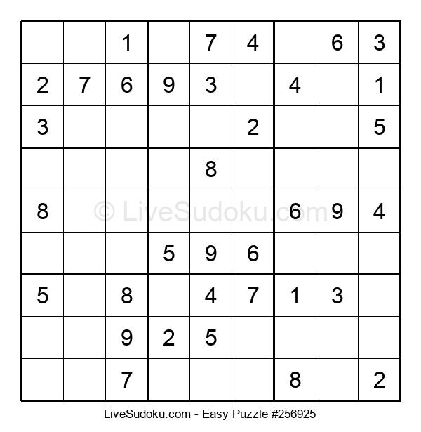 Beginners Puzzle #256925