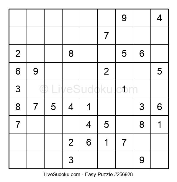 Beginners Puzzle #256928