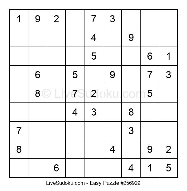 Beginners Puzzle #256929