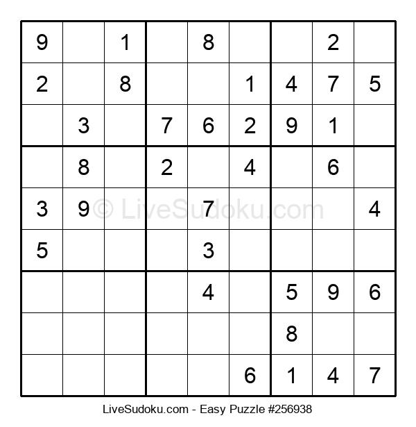 Beginners Puzzle #256938