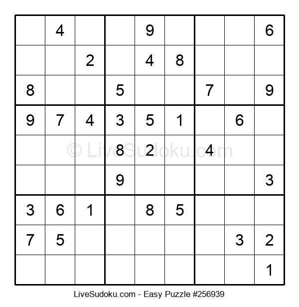 Beginners Puzzle #256939