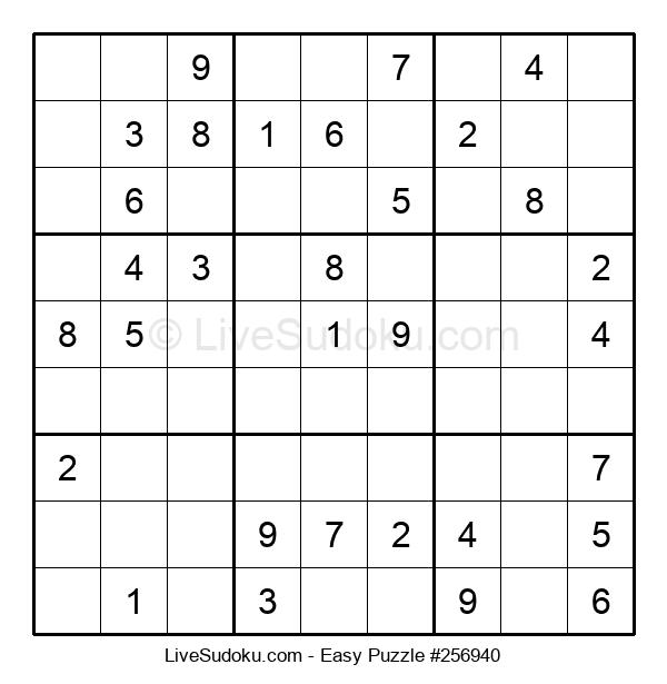 Beginners Puzzle #256940