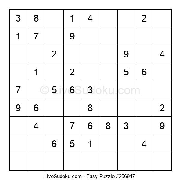 Beginners Puzzle #256947