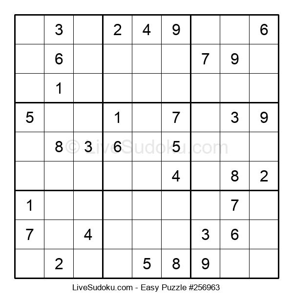 Beginners Puzzle #256963
