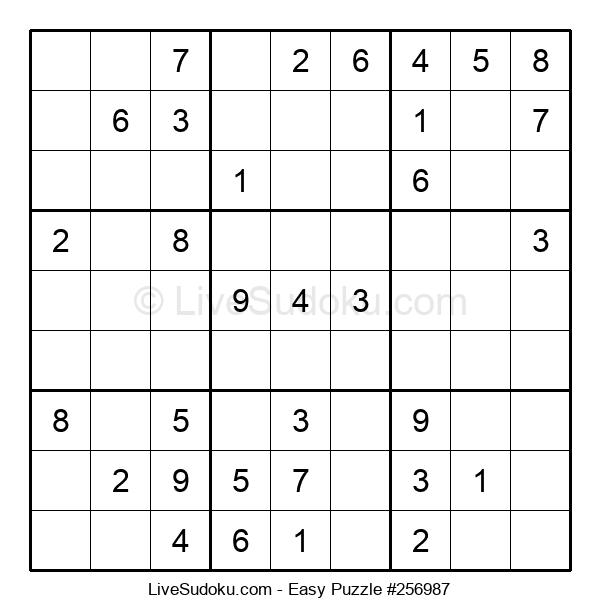 Beginners Puzzle #256987