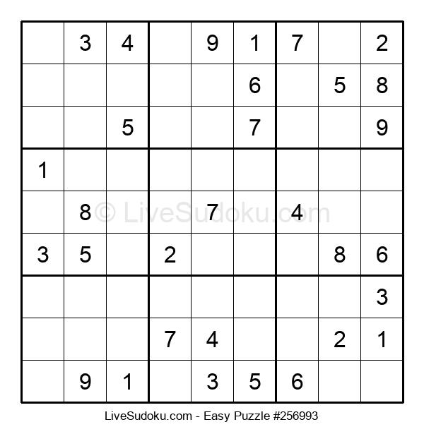 Beginners Puzzle #256993