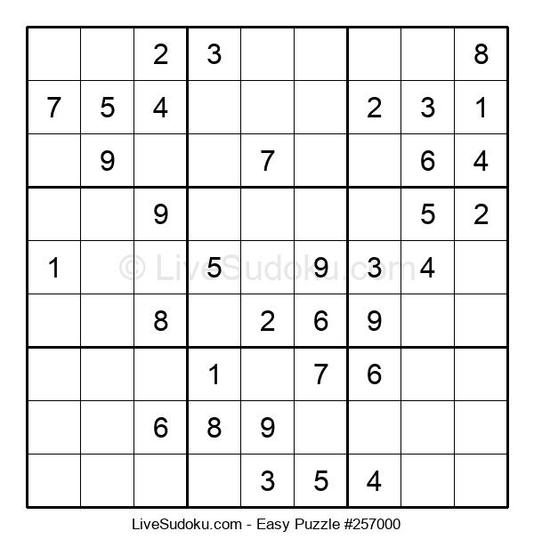 Beginners Puzzle #257000