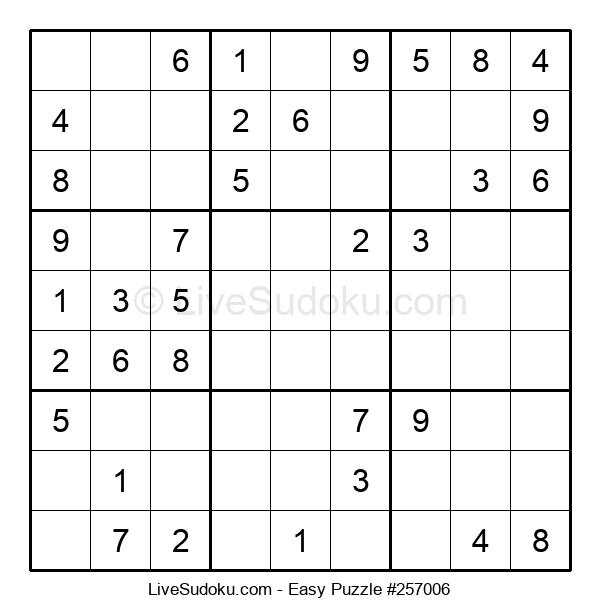 Beginners Puzzle #257006