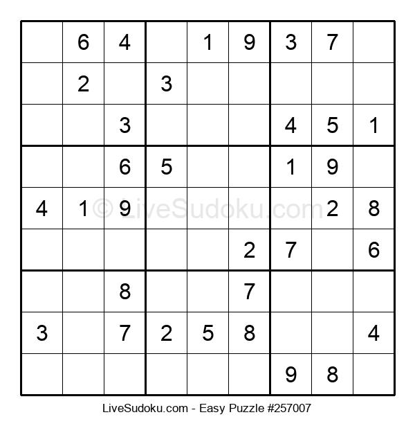 Beginners Puzzle #257007