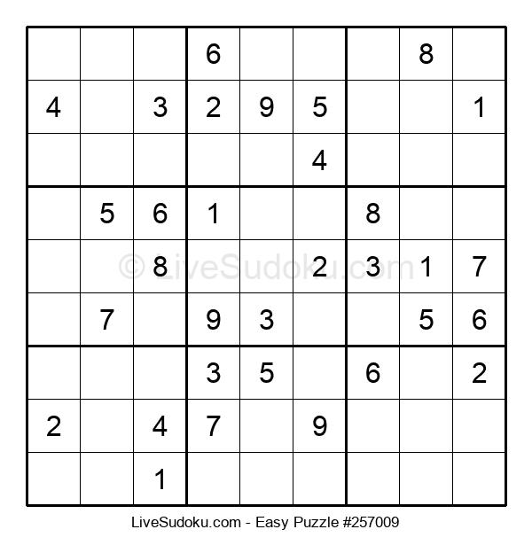 Beginners Puzzle #257009