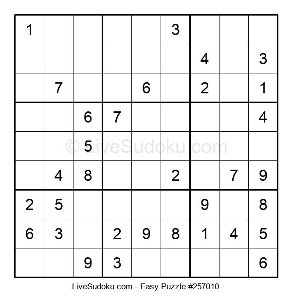 Beginners Puzzle #257010