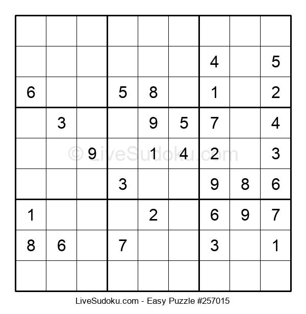 Beginners Puzzle #257015