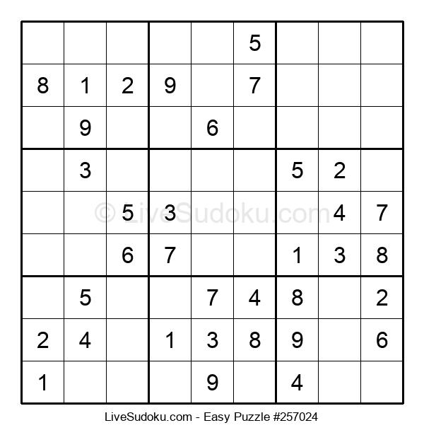 Beginners Puzzle #257024