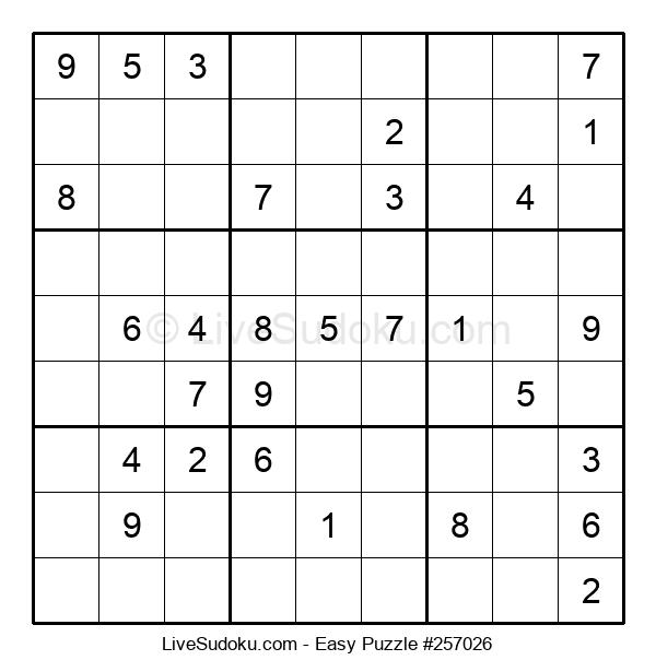 Beginners Puzzle #257026