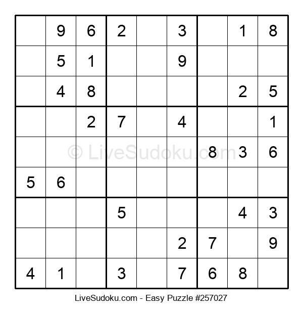 Beginners Puzzle #257027