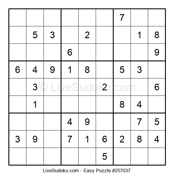 Beginners Puzzle #257037