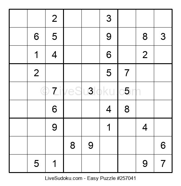 Beginners Puzzle #257041