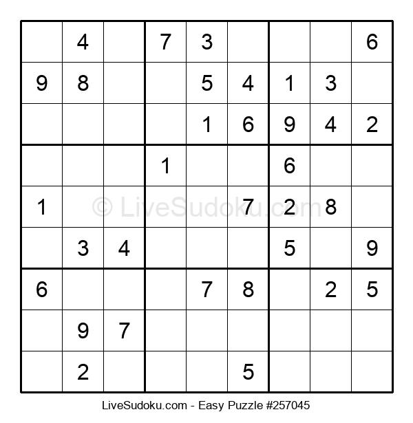 Beginners Puzzle #257045