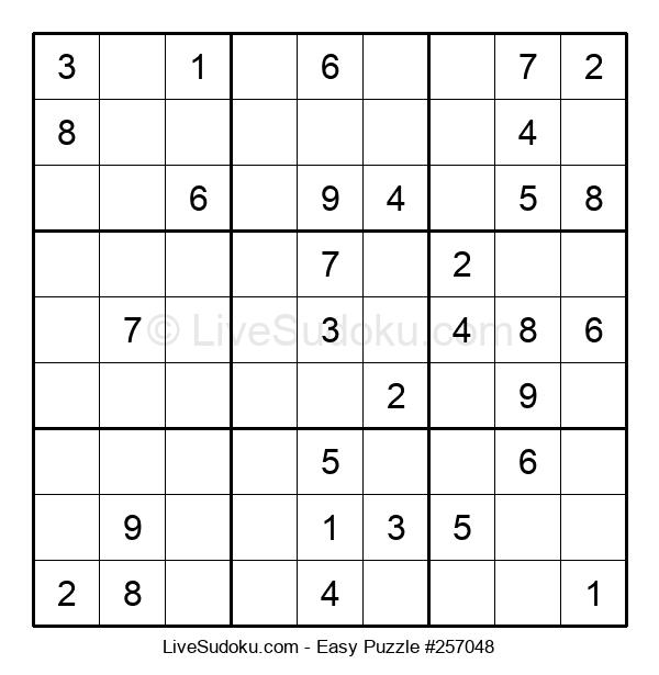 Beginners Puzzle #257048