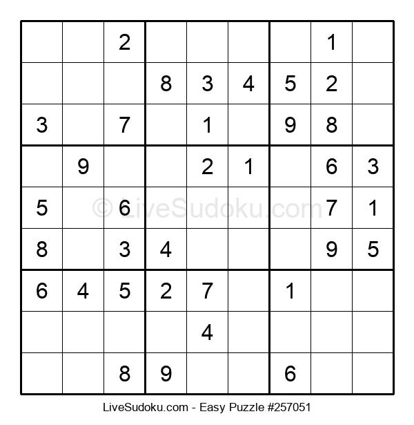 Beginners Puzzle #257051