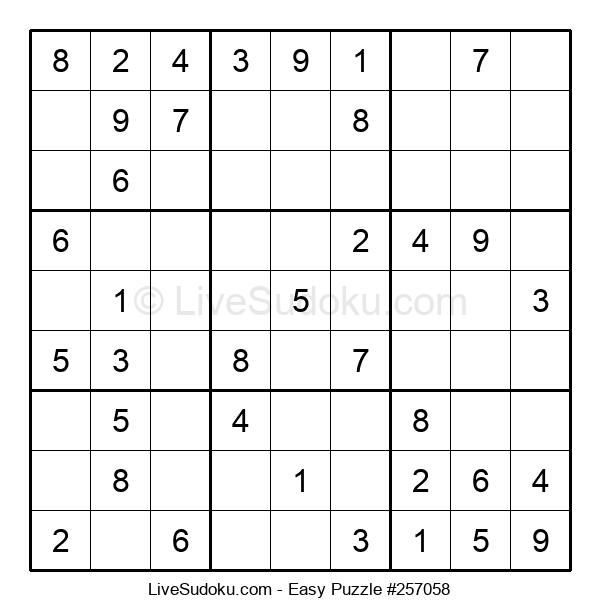 Beginners Puzzle #257058