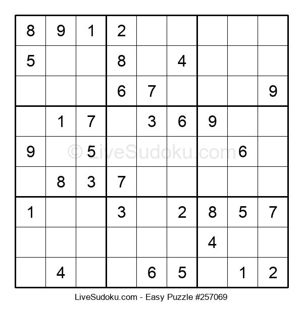 Beginners Puzzle #257069