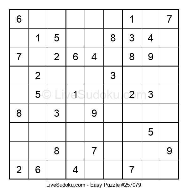Beginners Puzzle #257079