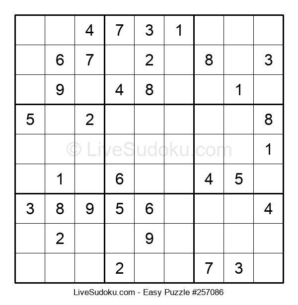 Beginners Puzzle #257086