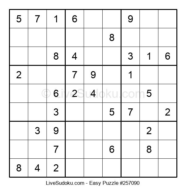 Beginners Puzzle #257090