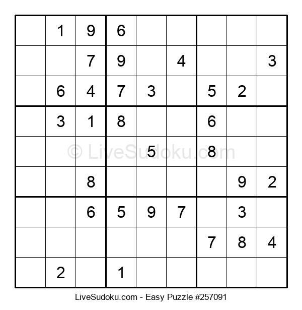 Beginners Puzzle #257091