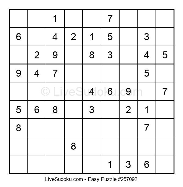 Beginners Puzzle #257092