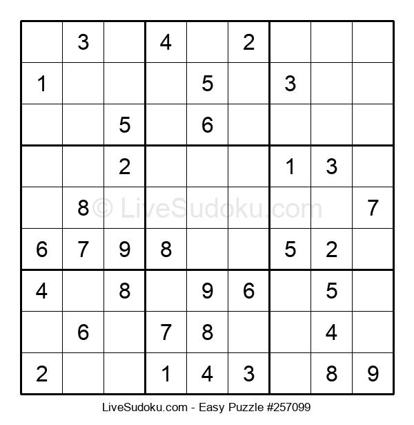 Beginners Puzzle #257099