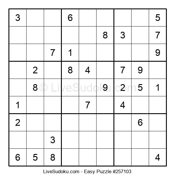 Beginners Puzzle #257103