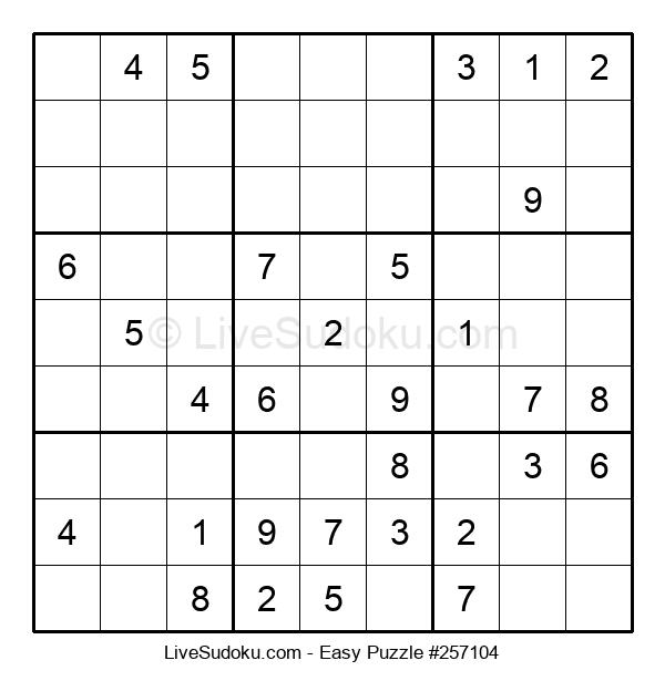 Beginners Puzzle #257104