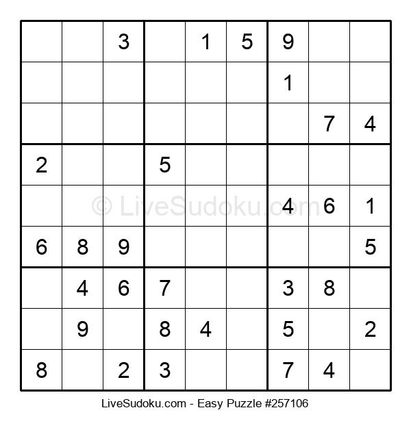 Beginners Puzzle #257106