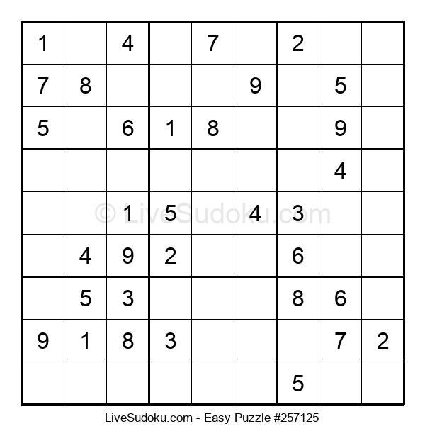 Beginners Puzzle #257125