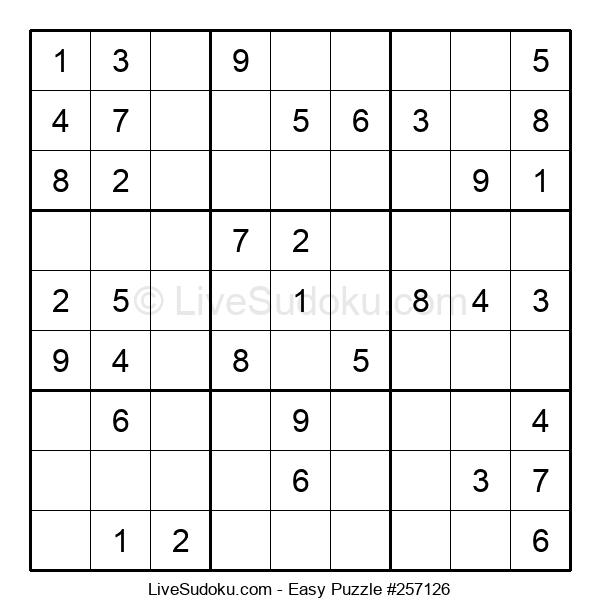 Beginners Puzzle #257126