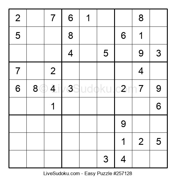 Beginners Puzzle #257128