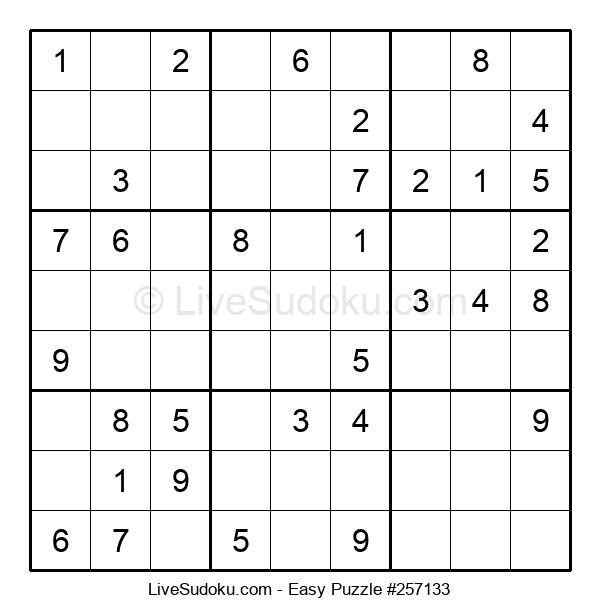 Beginners Puzzle #257133