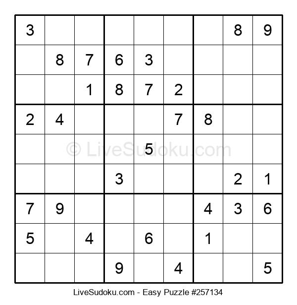 Beginners Puzzle #257134