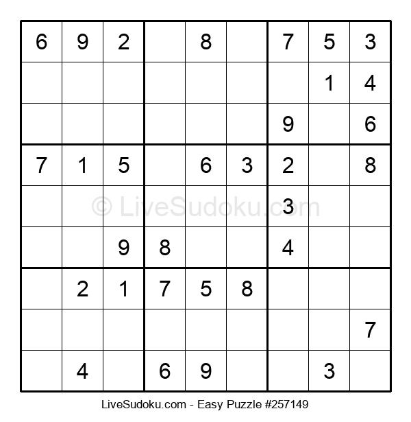 Beginners Puzzle #257149